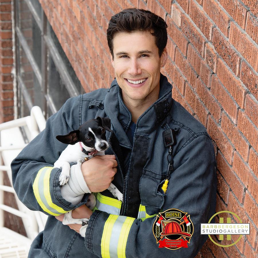 Boise Firefighters Calender 2020 Hot Fireman